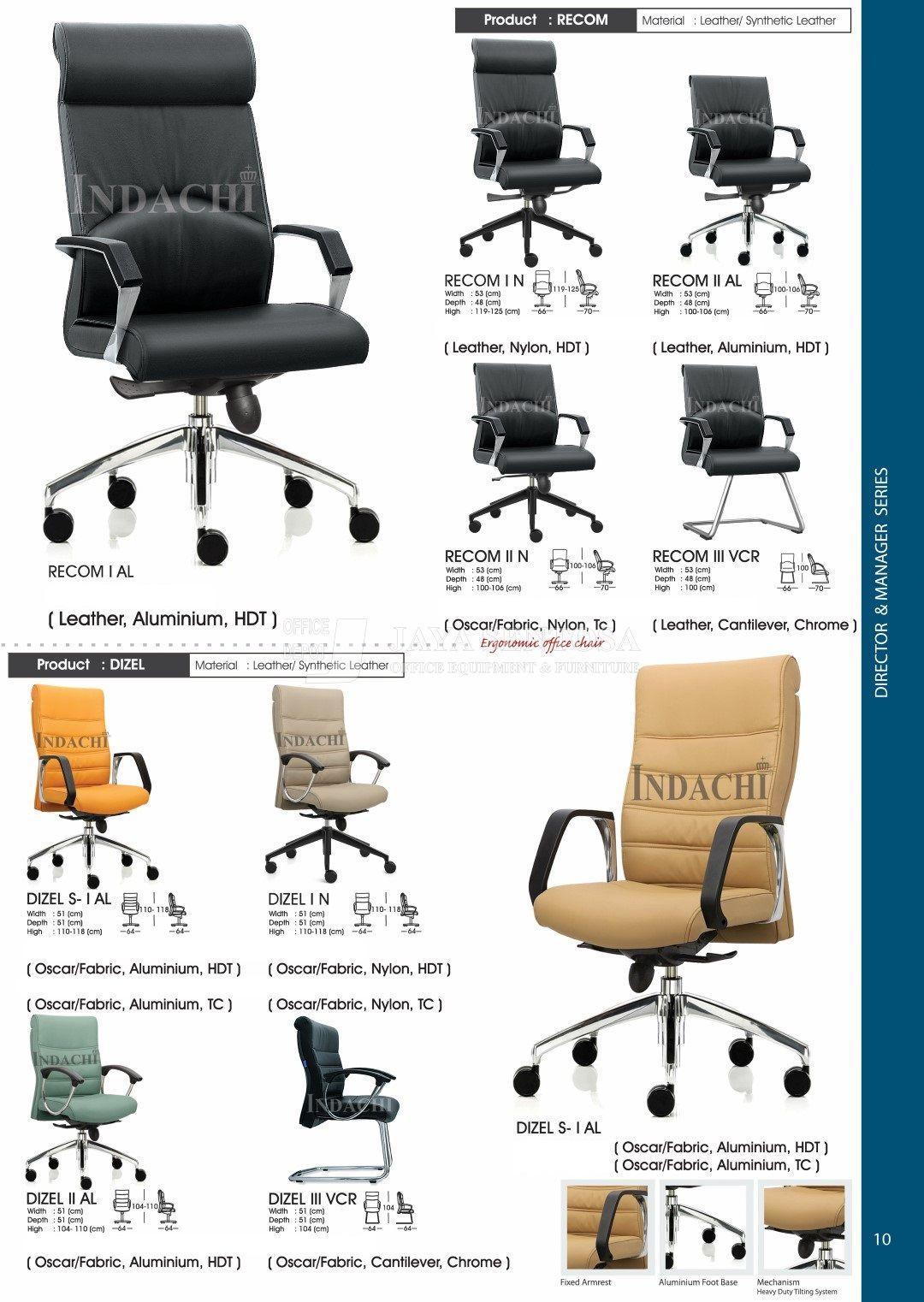 Jaya Sentosa Furniture Kursi Kantor Savello Modern Design Indachi Direktur Eksekutif Dan Manager 10